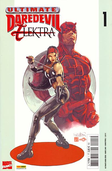 Ultimates – Hors série, T1 : Ultimate DareDevil & Elektra (0), comics chez Panini Comics de Rucka, Larroca, Hou, Tsang
