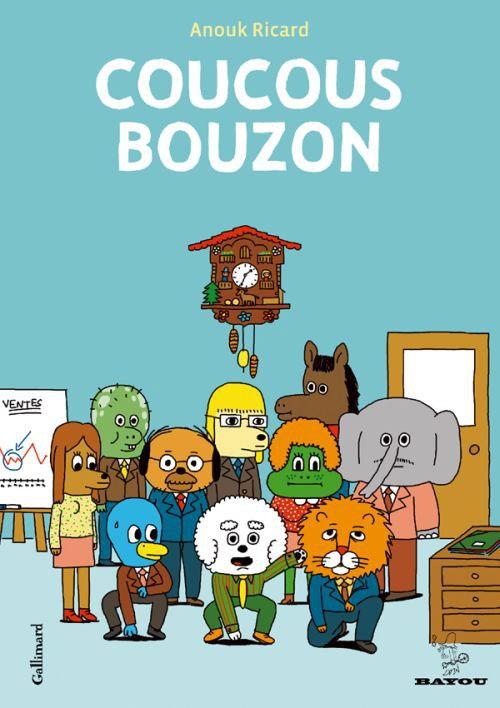 Coucous Bouzon, bd chez Gallimard de Ricard
