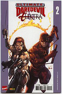 Ultimates – Hors série, T2 : Hors série : Ultimate DareDevil & Elektra (0), comics chez Panini Comics de Rucka, Larroca, Tsang