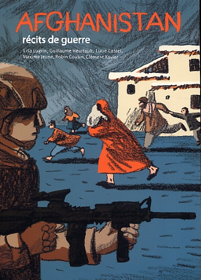 Afghanistan, récits de guerre, bd chez Flblb de Collectif
