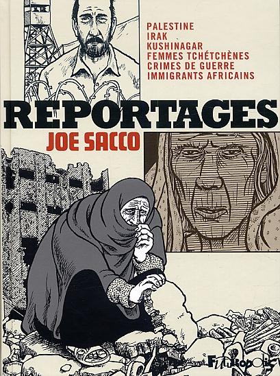 Reportages, comics chez Futuropolis de Sacco