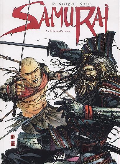 Samurai – cycle 3, T7 : Frères d'armes (0), bd chez Soleil de Di Giorgio, Genet, Rieu