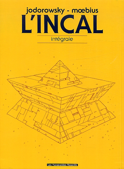 L'Incal : Intégrale (1), bd chez Les Humanoïdes Associés de Jodorowsky, Moebius, Beaumeney-Joannet, Janjetov, Chaland
