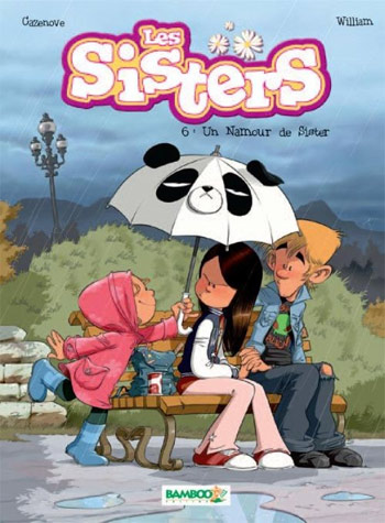 Les sisters T6 : Un Namour de Sister (0), bd chez Bamboo de William, Cazenove