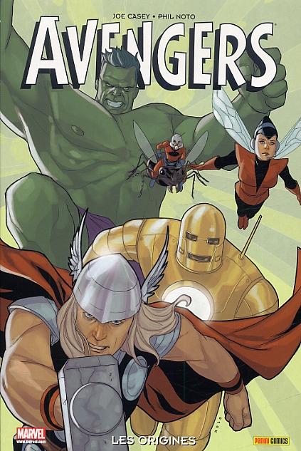 Avengers - Les origines, comics chez Panini Comics de Casey, Noto