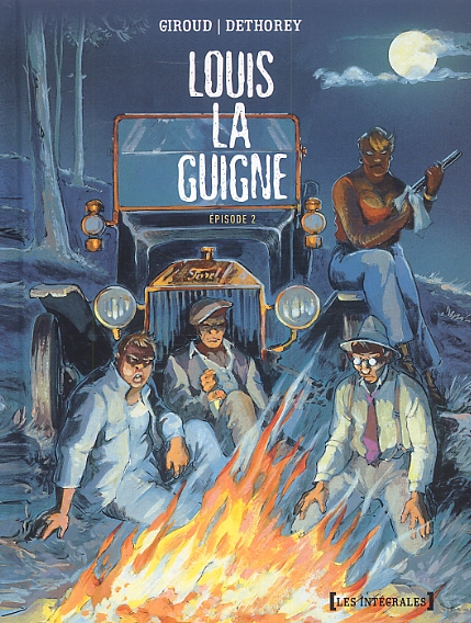 Louis la Guigne T2, bd chez Glénat de Giroud, Dethorey, Carle