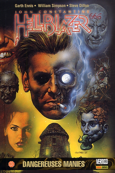 John Constantine - Hellblazer T3 : Dangereuses manies (1), comics chez Panini Comics de Ennis, Simpson, Hoffman, Dillon, Ziuko, Fabry
