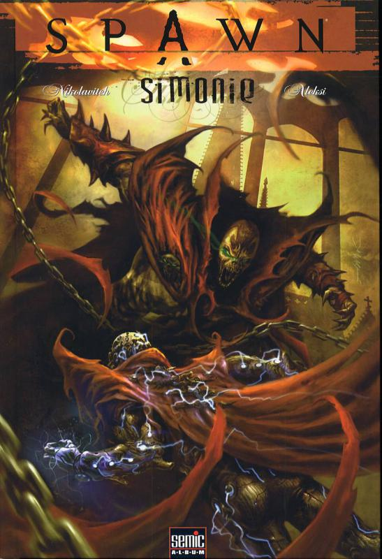 Spawn - Simonie, comics chez Semic de Porcherot, Nikolavitch, Briclot