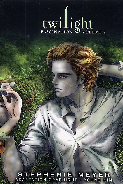 Twilight  – Fascination, T2, manga chez Pika de Meyer, Young