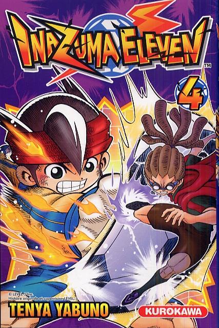 Inazuma eleven T4, manga chez Kurokawa de Yabuno