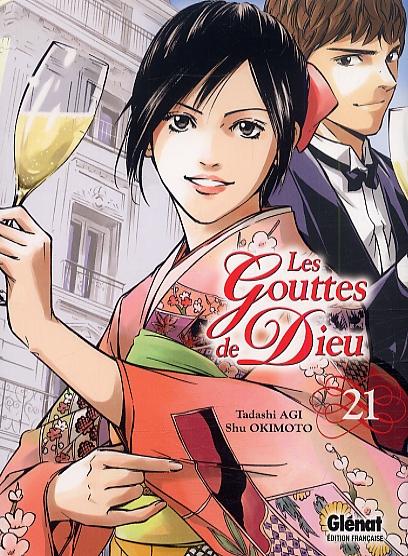 Les gouttes de Dieu T21, manga chez Glénat de Agi, Okimoto