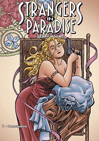 Strangers in paradise – cycle , T7 : Sanctuaire (0), comics chez Kyméra de Moore