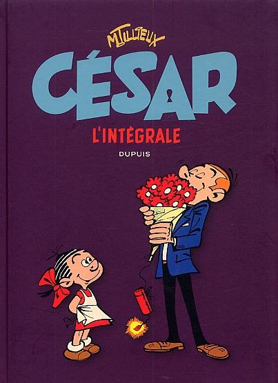 César : Intégrale (1), bd chez Dupuis de Tillieux