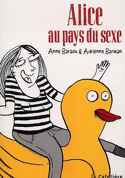Alice au pays du sexe, bd chez La Cafetière de Baraou, Barman