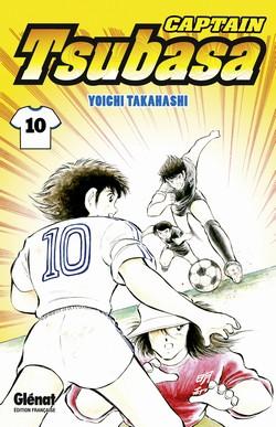 Captain Tsubasa T10, manga chez Glénat de Takahashi