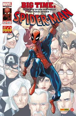 Spider-Man (revue) – V 2, T142 : Tout vient à point (0), comics chez Panini Comics de Guggenheim, Wells, Slott, Kelly, Waid, Van Lente, Delmundo, Archer, Nimura, Ramos, Hollowell, Fabela, Delgado