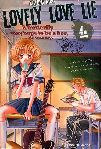 Lovely love lie T4, manga chez Soleil de Aoki