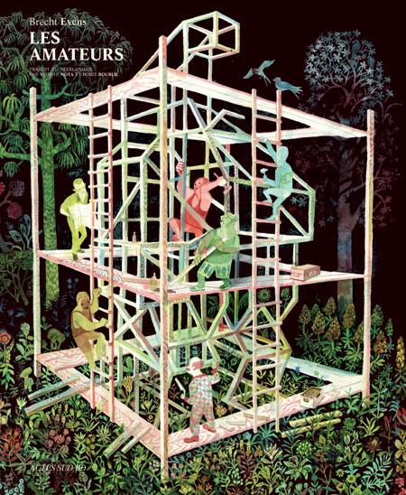 Les Amateurs, bd chez Actes Sud BD de Evens