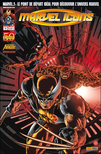 Marvel Icons T10 : Régénération (0), comics chez Panini Comics de Fraction, Bendis, Chaykin, Deodato Jr, Larroca, Delgado, Beredo, d' Armata