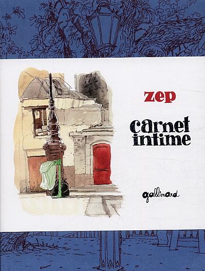 Carnet intime, bd chez Gallimard de Zep