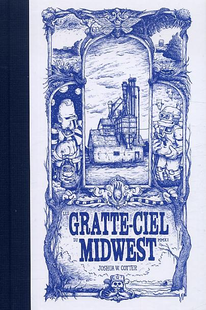 Les gratte-ciel du Midwest, comics chez Çà et là de Cotter
