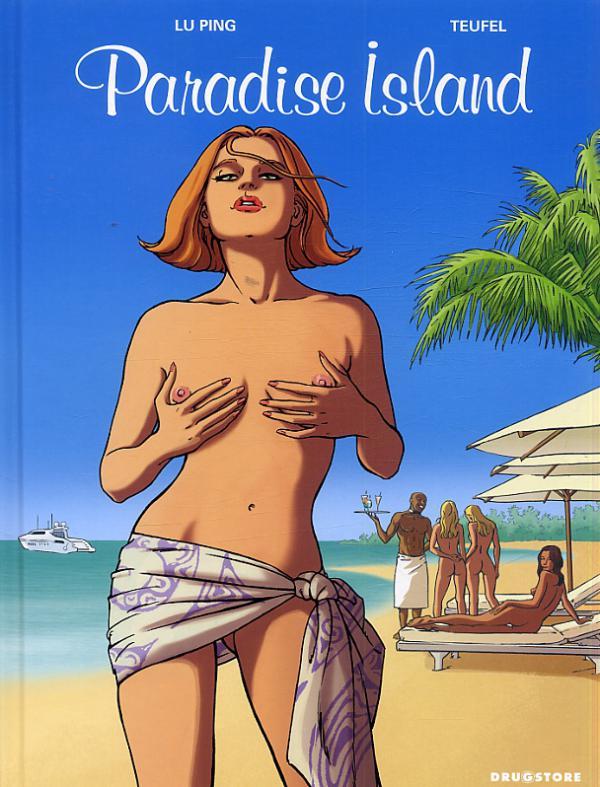 Paradise island, bd chez Drugstore de Ping, Teufel, Angus
