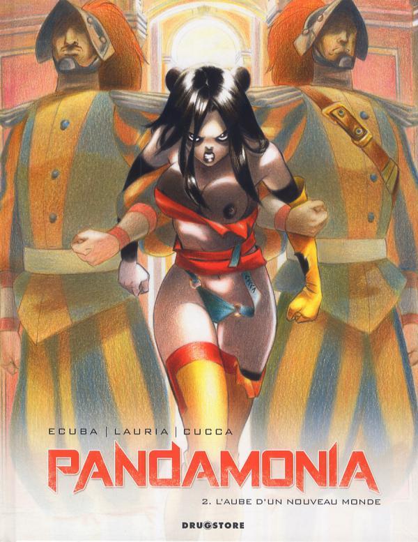 Pandamonia T2 : L'aube d'un nouveau monde (0), bd chez Drugstore de Ecuba, Lauria, Cucca, Andolfo