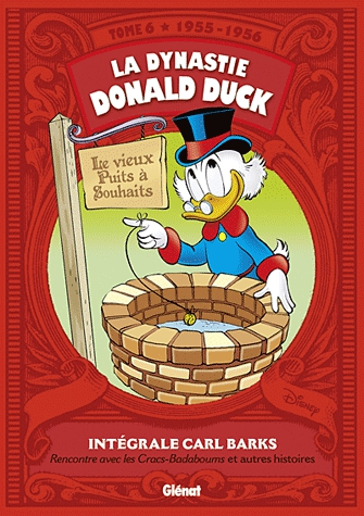 La Dynastie Donald Duck T6 : 1955-1956 (0), comics chez Glénat de Barks