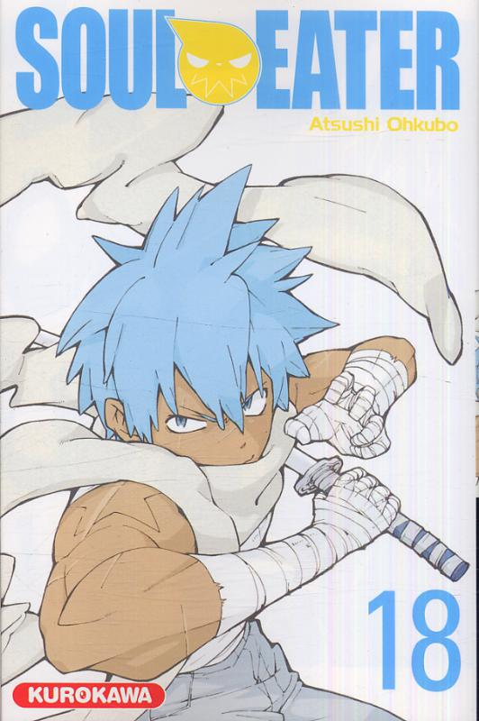 Soul eater T18, manga chez Kurokawa de Ohkubo