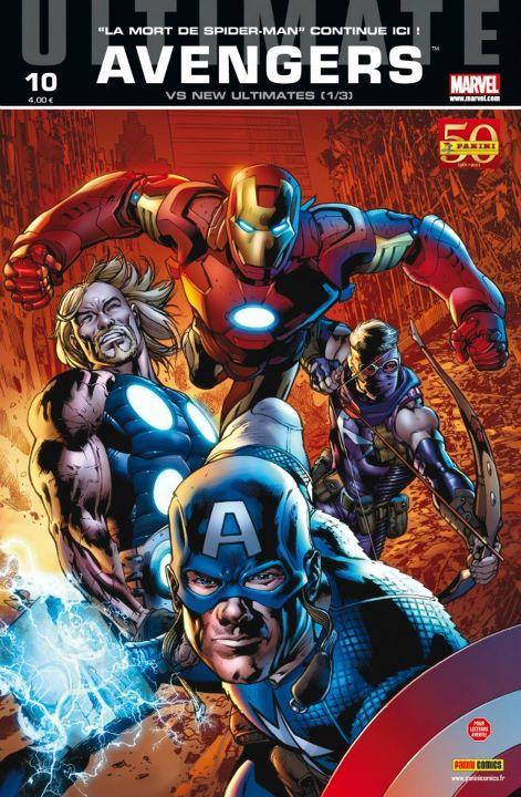 Ultimate Avengers T10 : Ultimate Avengers vs New Ultimates (0), comics chez Panini Comics de Millar, Yu, Segovia, Gho, Alanguilan, Charalampidis, Hitch