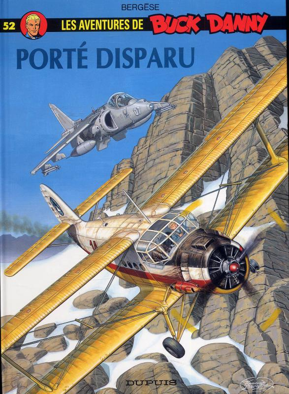 Buck Danny T52 : Porté disparu (0), bd chez Dupuis de Bergèse, Bergèse