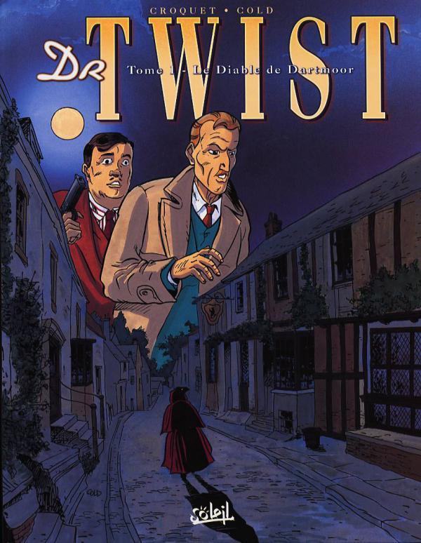 Dr. Twist T1 : Le diable de Dartmoore (0), bd chez Soleil de Croquet, Cold, Faucon