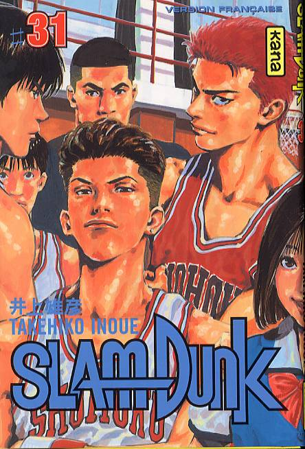 Slam Dunk – 1e édition, T31, manga chez Kana de Inoue