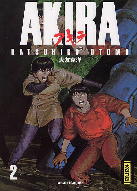 Akira T2, manga chez Kana de Otomo