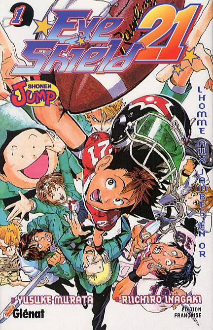 Eye Shield 21 T1, manga chez Glénat de Inagaki, Murata
