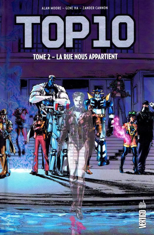 Top 10 T2 : La rue nous appartient (0), comics chez Urban Comics de Moore, Ha, Cannon, Wildstorm fx, Sinclair, Brown