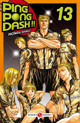 Ping Pong Dash !! T13, manga chez Bamboo de Honda