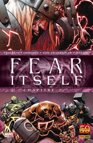 Fear Itself T2 : The Worthy (0), comics chez Panini Comics de Chaykin, Milligan, Fraction, Immonen, Bonetti, Martin, Delgado, Rauch, McNiven