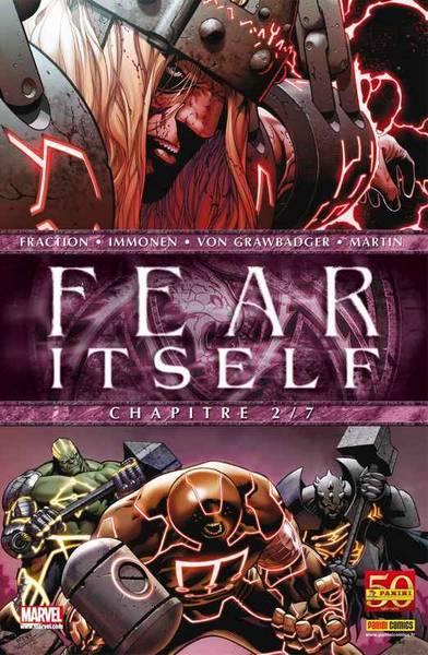 Fear Itself T2 : The Worthy (0), comics chez Panini Comics de Chaykin, Milligan, Fraction, Immonen, Bonetti, Martin, Delgado, Rauch, McNiven
