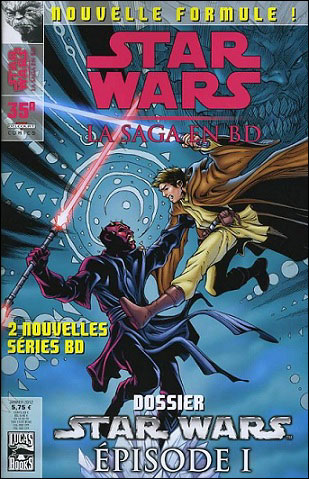 Star Wars (revue) – La saga en BD, T35, comics chez Delcourt de Windham, Taylor, Chestney, Scalf, Fowler, Pop , Sanchez, Atiyeh, David