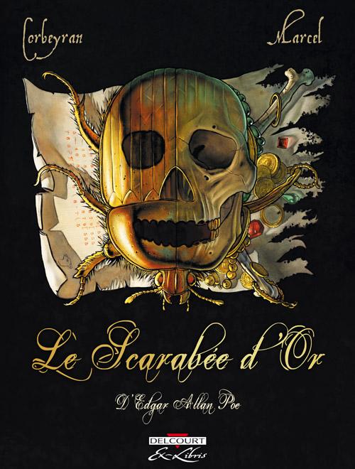 Le Scarabée d'or, bd chez Delcourt de Corbeyran, Marcel