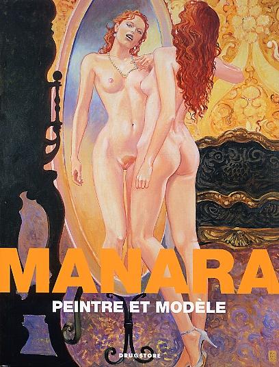 Manara : Peintre et modèle (0), bd chez Drugstore de Manara