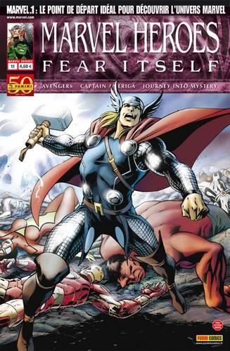 Marvel Heroes – Revue V 3, T11 : Voyage vers l'inconnu (0), comics chez Panini Comics de Chaykin, Gillen, Bendis, Bachalo, Braithwaite, Hitch, Delgado, Mounts, Arreola, Davis