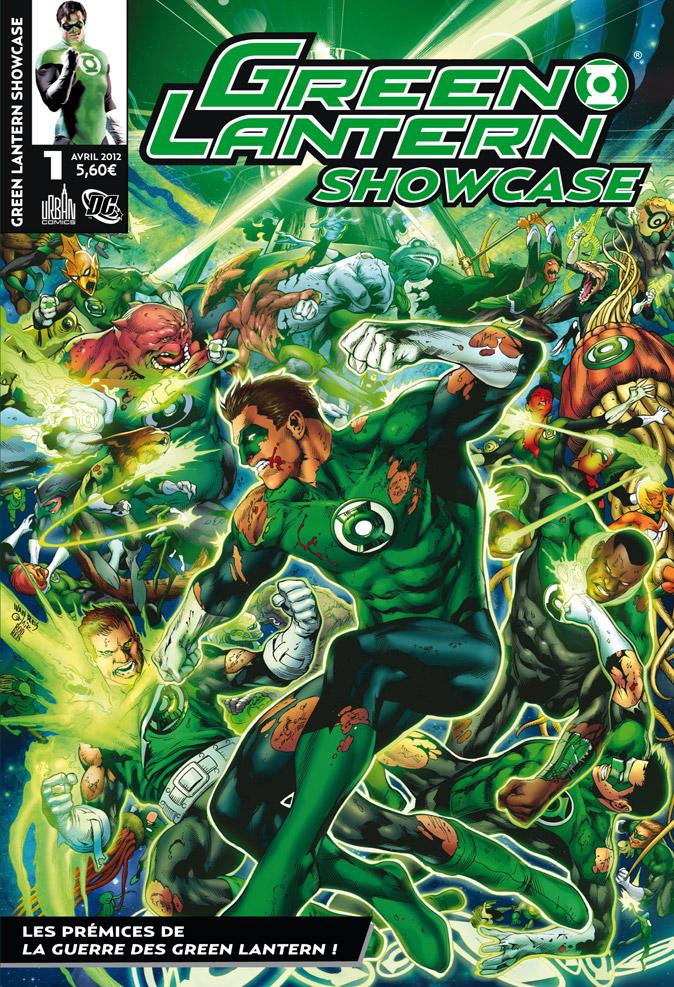 Green Lantern - Showcase T1, comics chez Urban Comics de Bedard, Johns, Tomasi, Syaf, Kirkham, Benes, Pasarin, Mahnke, Reis, Eltaeb, Ruffino, Mayor, Reis, Oclairalbert