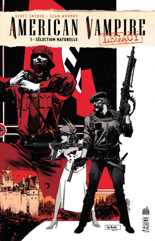 American Vampire Legacy T1 : Sélection naturelle (0), comics chez Urban Comics de Snyder, Murphy, Stewart