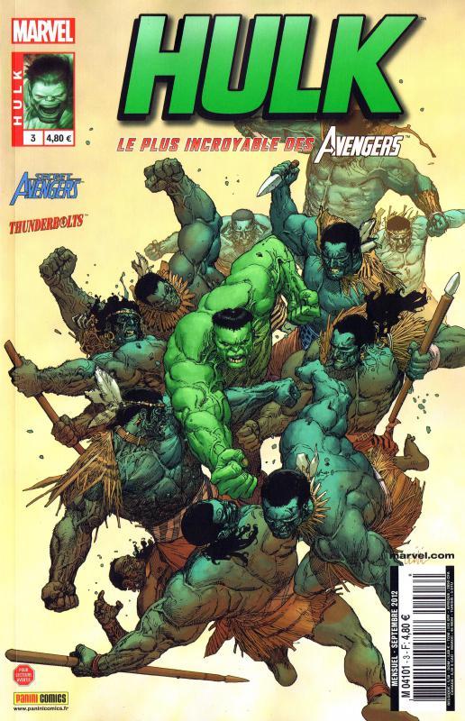 Hulk – Revue V 2, T3 : Les descendants (0), comics chez Panini Comics de Remender, Parker, Aaron, Zircher, Shalvey, Hardman, Portacio, Mashuri, Breitweiser, Martin, Yuwono, Prianto, Rosenberg, Yu