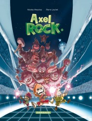Axel Rock T1 : Des stars dans les étoiles (0), bd chez Dargaud de Moustey, Loyvet
