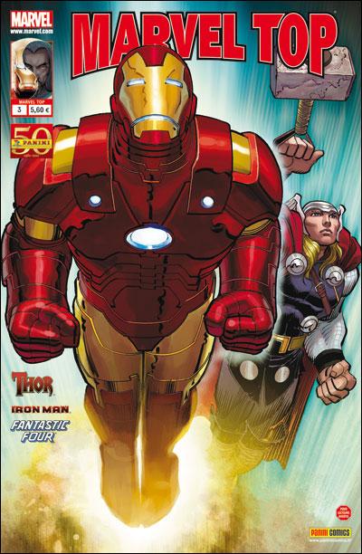 Marvel Top T3 : Beau temps (0), comics chez Panini Comics de Fraction, Ahearne, Hitch, Di Giandomenico, Romita Jr, White, Wilson, Beredo, Mounts