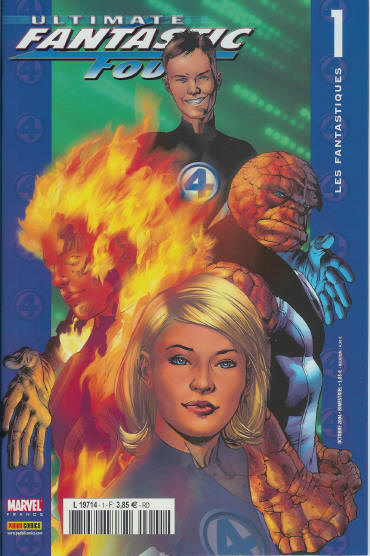 Ultimate Fantastic Four T1 : Les Fantastiques (1/3) (0), comics chez Panini Comics de Millar, Bendis, Kubert, Stewart, Hitch