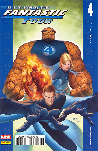 Ultimate Fantastic Four T4 : Fatalis (1/3) (0), comics chez Panini Comics de Ellis, Immonen, Stewart